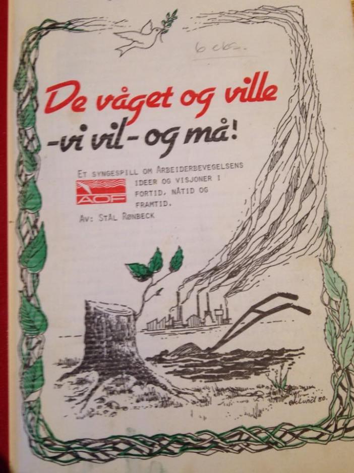 Syngespill av Stål Rønbeck